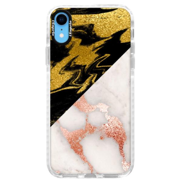 Silikonové pouzdro Bumper iSaprio - Shining Marble - iPhone XR