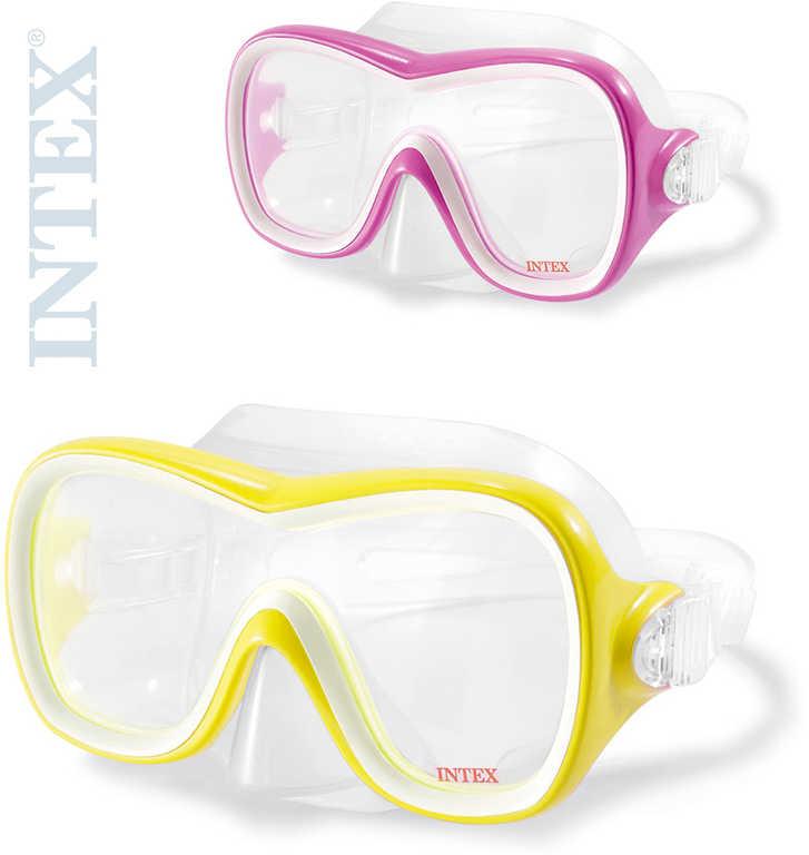 INTEX Brýle potápěčské Wave Rider na potápění do vody 2 barvy 55978