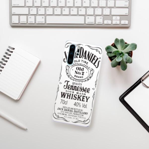Odolné silikonové pouzdro iSaprio - Jack White - Huawei P30 Pro