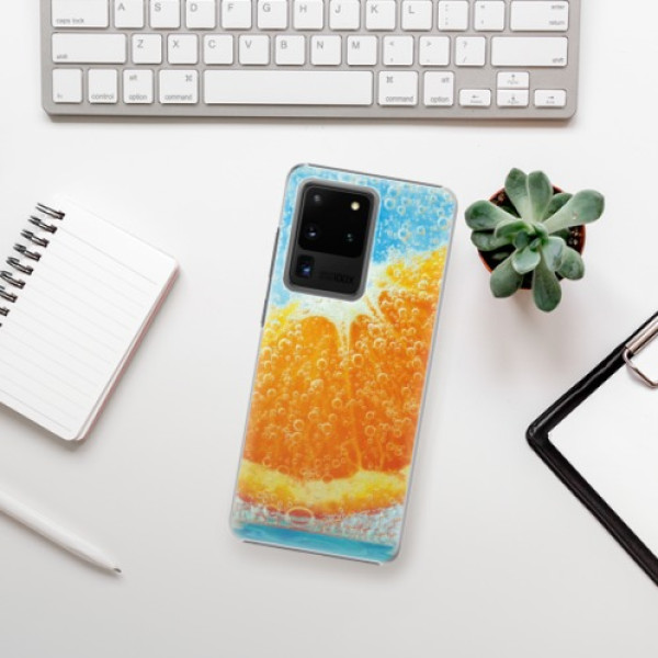 Plastové pouzdro iSaprio - Orange Water - Samsung Galaxy S20 Ultra