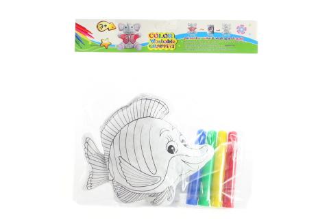 Malovací rybka