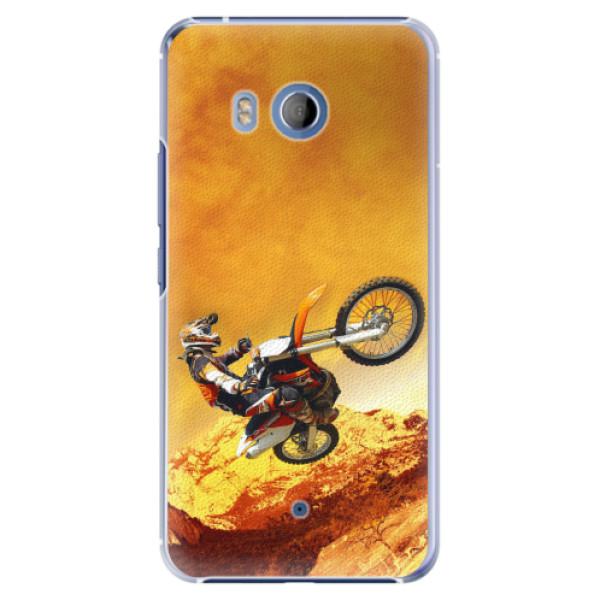 Plastové pouzdro iSaprio - Motocross - HTC U11