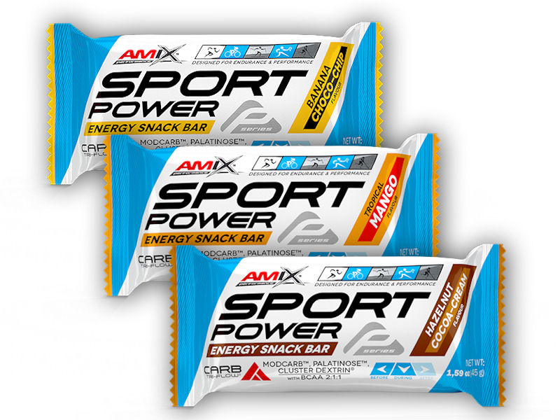 Sport Power Energy Cake - 45g-banana-choco-chip