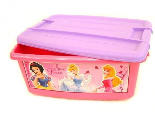 box-ulozny-ruzovy-disney-princezny-plast-43x20x29cm