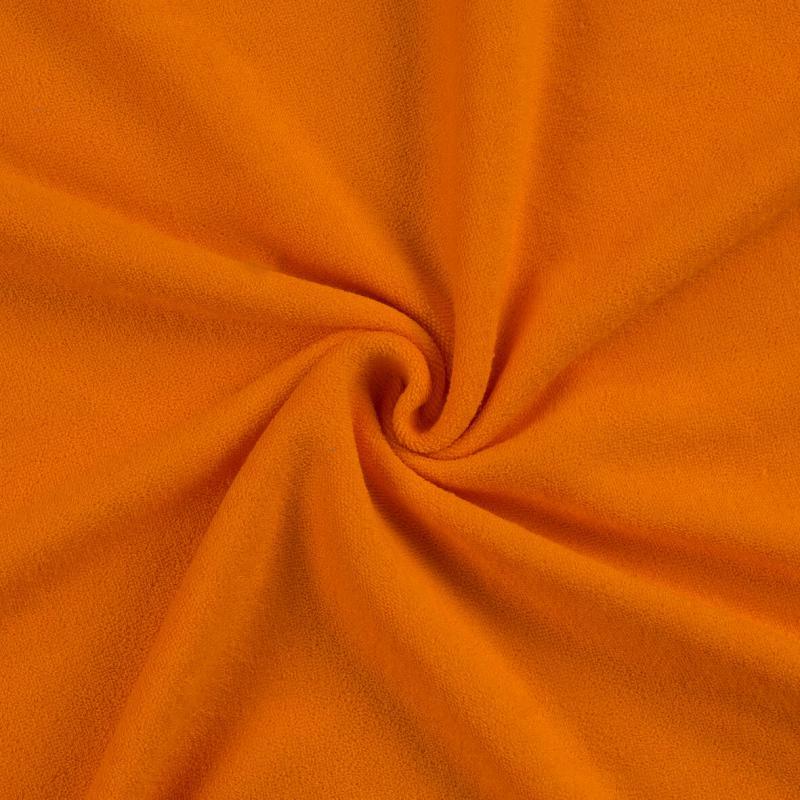 Froté prostěradlo 160x200cm II.jakost, Barva 049 oranžová
