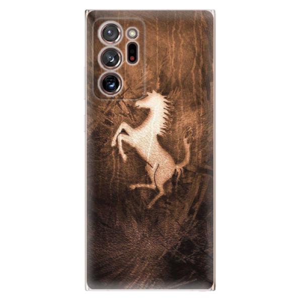Odolné silikonové pouzdro iSaprio - Vintage Horse - Samsung Galaxy Note 20 Ultra
