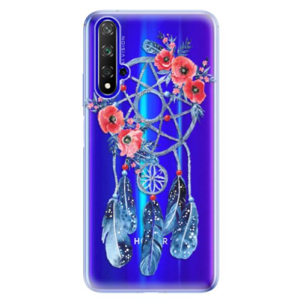 Odolné silikonové pouzdro iSaprio - Dreamcatcher 02 - Huawei Honor 20