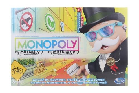 Monopoly pro mileniály  TV 1.9.- 31.12.2020