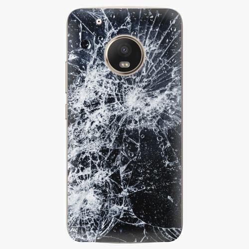 Plastový kryt iSaprio - Cracked - Lenovo Moto G5 Plus