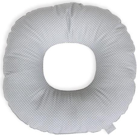 Ceba Poporodní polštář - bílé tečky na šedé