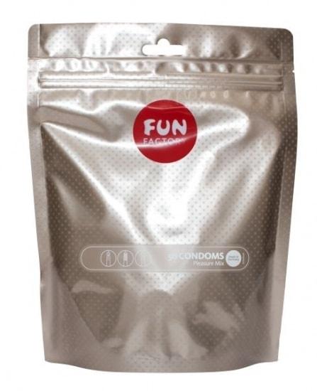 Kondomy Fun Factory Pleasure mix - 50ks