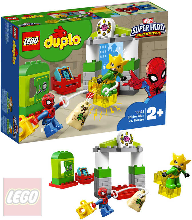LEGO DUPLO Super Heroes Spiderman vs. Electro 10893