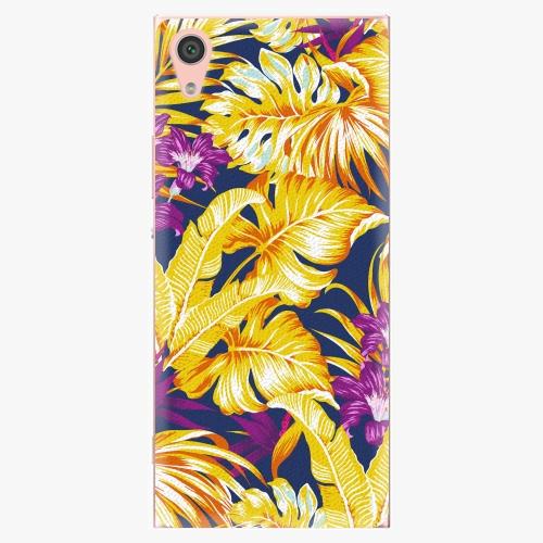 Plastový kryt iSaprio - Tropical Orange 04 - Sony Xperia XA1