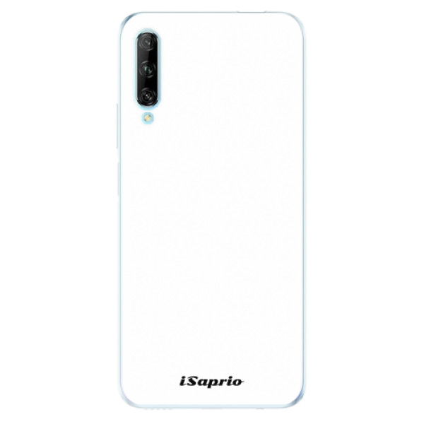 Odolné silikonové pouzdro iSaprio - 4Pure - bílý - Huawei P Smart Pro