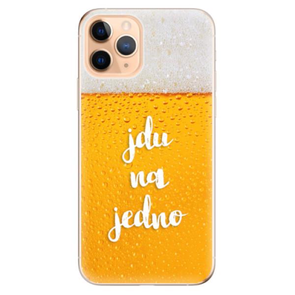 Odolné silikonové pouzdro iSaprio - Jdu na jedno - iPhone 11 Pro