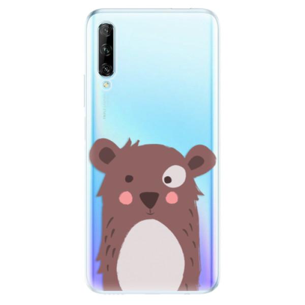 Odolné silikonové pouzdro iSaprio - Brown Bear - Huawei P Smart Pro