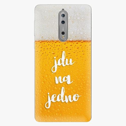 Plastový kryt iSaprio - Jdu na jedno - Nokia 8