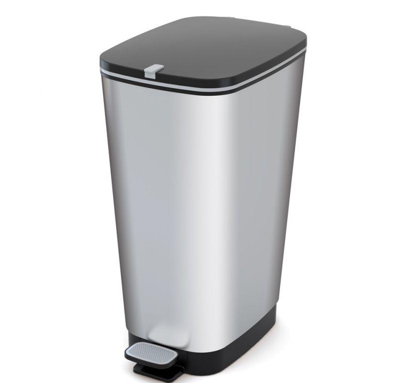 odpadkovy-kos-chic-50-l-stribrny