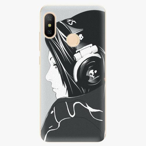 Silikonové pouzdro iSaprio - Headphones - Xiaomi Mi A2 Lite