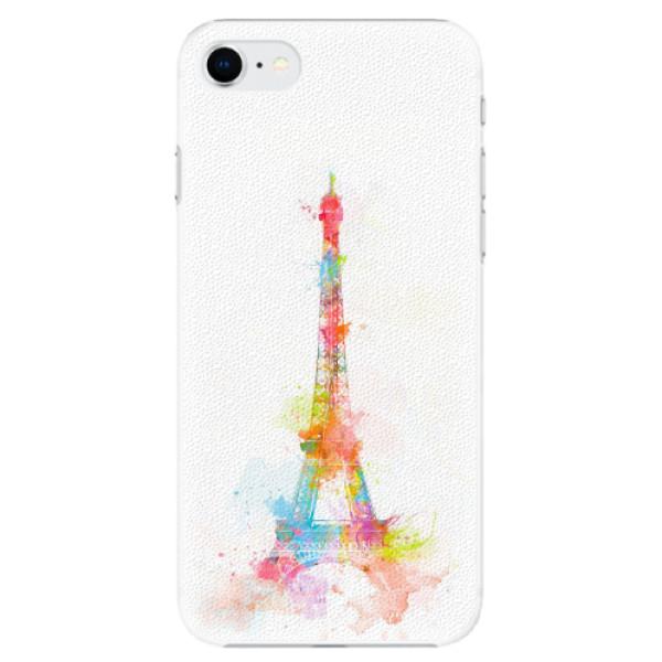 Plastové pouzdro iSaprio - Eiffel Tower - iPhone SE 2020