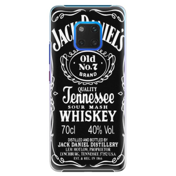 Plastové pouzdro iSaprio - Jack Daniels - Huawei Mate 20 Pro