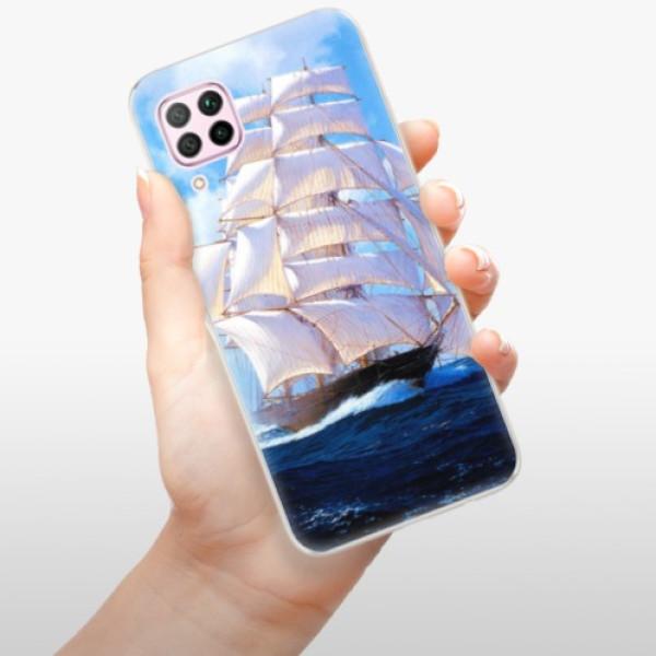 Odolné silikonové pouzdro iSaprio - Sailing Boat - Huawei P40 Lite