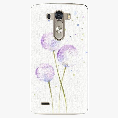 Plastový kryt iSaprio - Dandelion - LG G3 (D855)