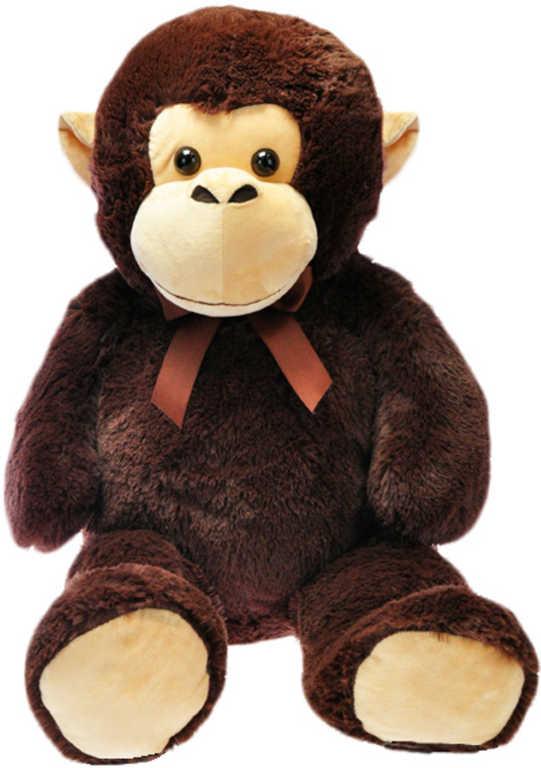 PLYŠ Opice 100cm s mašlí na krku *PLYŠOVÉ HRAČKY*