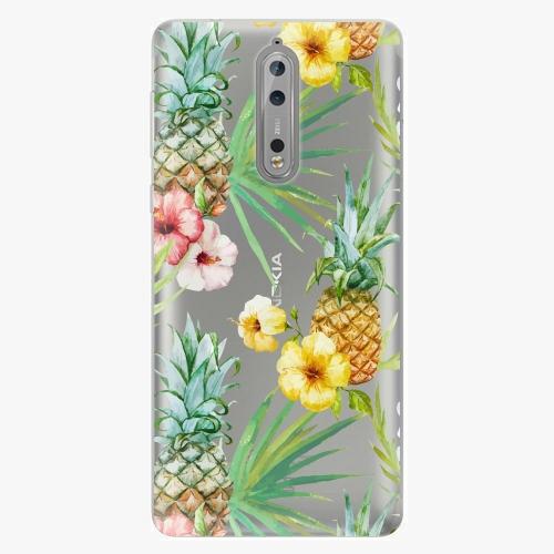 Plastový kryt iSaprio - Pineapple Pattern 02 - Nokia 8