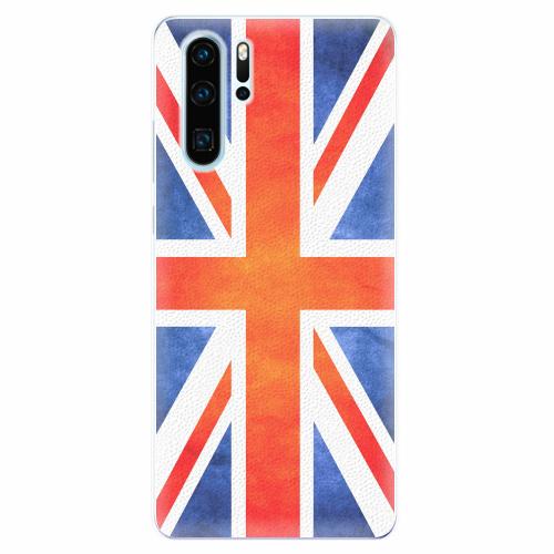Silikonové pouzdro iSaprio - UK Flag - Huawei P30 Pro
