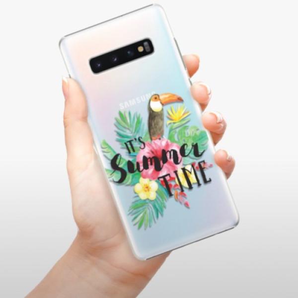 Plastové pouzdro iSaprio - Summer Time - Samsung Galaxy S10+