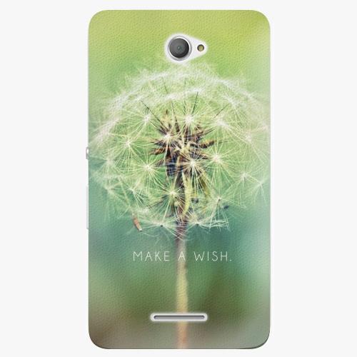 Plastový kryt iSaprio - Wish - Sony Xperia E4