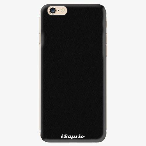 Silikonové pouzdro iSaprio - 4Pure - černý - iPhone 6/6S