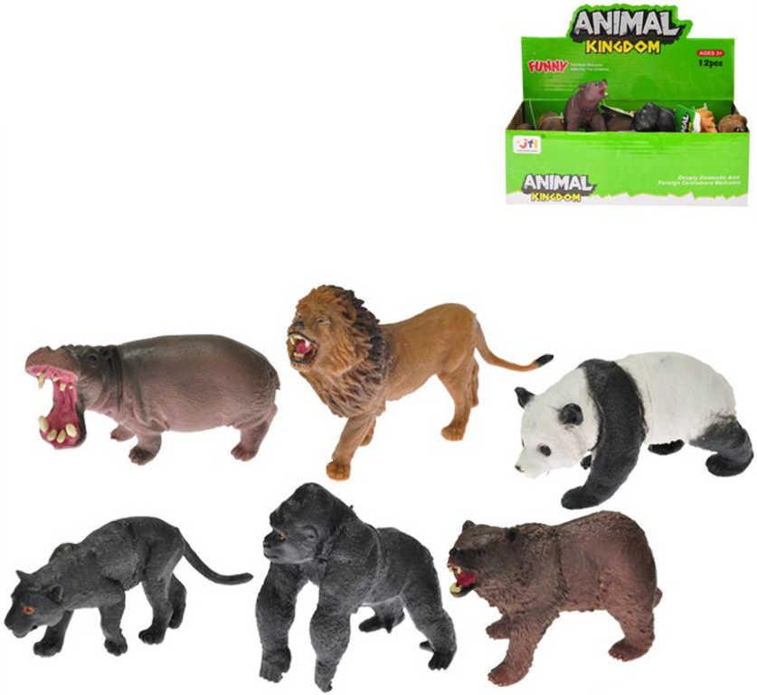 Zvířátka plastová safari 8-10cm 12 druhů