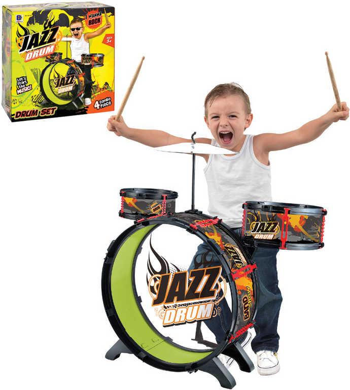 Jazz Drum sada malý bubeník bubny dětské v krabici HUDEBNÍ NÁSTROJE