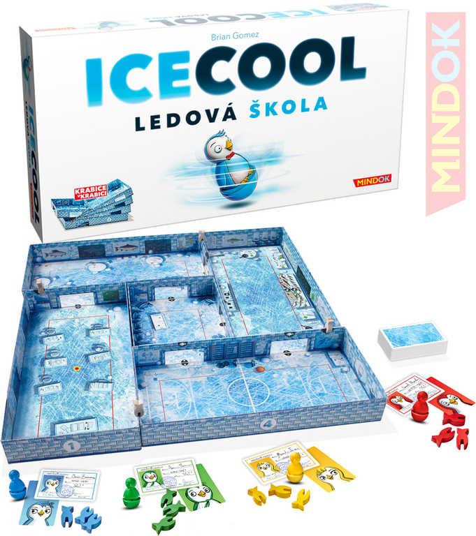 MINDOK HRA cvrnkací Ice Cool Ledová škola *SPOLEČENSKÉ HRY*