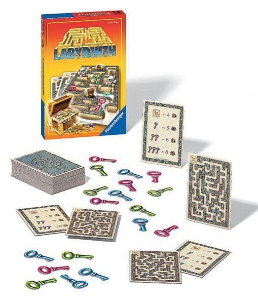 RAVENSBURGER Hra Labyrinth (Labyrint) Honba za pokladem * SPOLEČENSKÉ HRY *