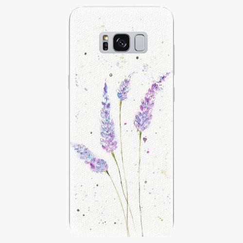 Silikonové pouzdro iSaprio - Lavander - Samsung Galaxy S8
