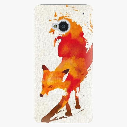 Plastový kryt iSaprio - Fast Fox - HTC One M7