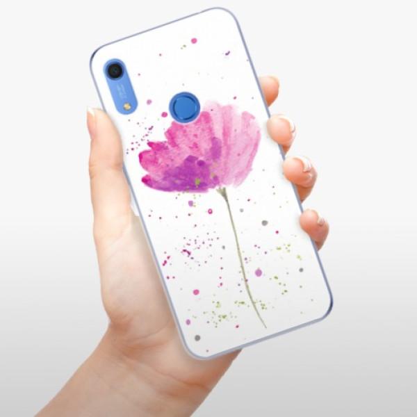 Odolné silikonové pouzdro iSaprio - Poppies - Huawei Y6s