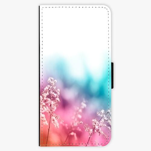 Flipové pouzdro iSaprio - Rainbow Grass - Samsung Galaxy A3 2017