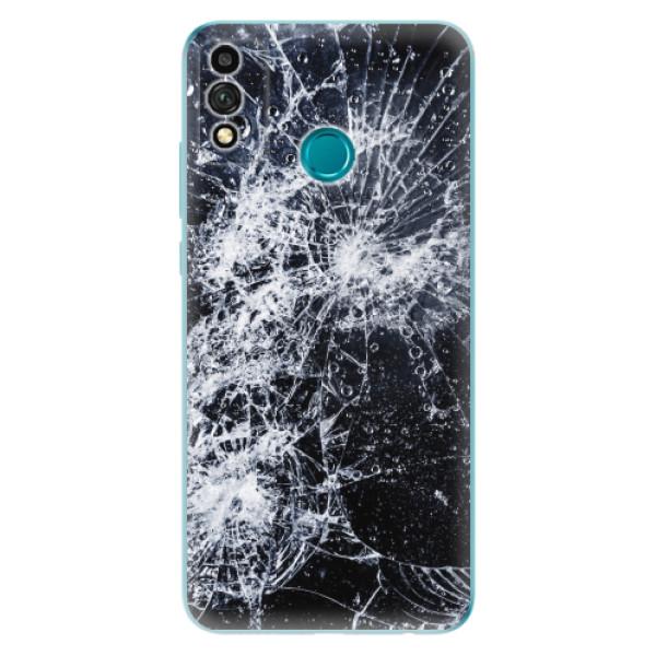 Odolné silikonové pouzdro iSaprio - Cracked - Honor 9X Lite