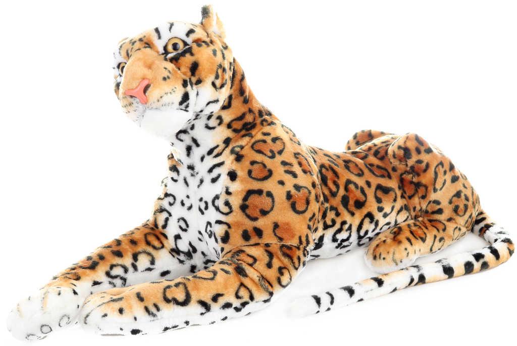PLYŠ Leopard ležící 85cm *PLYŠOVÉ HRAČKY*