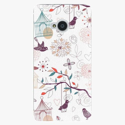 Plastový kryt iSaprio - Birds - HTC One M7