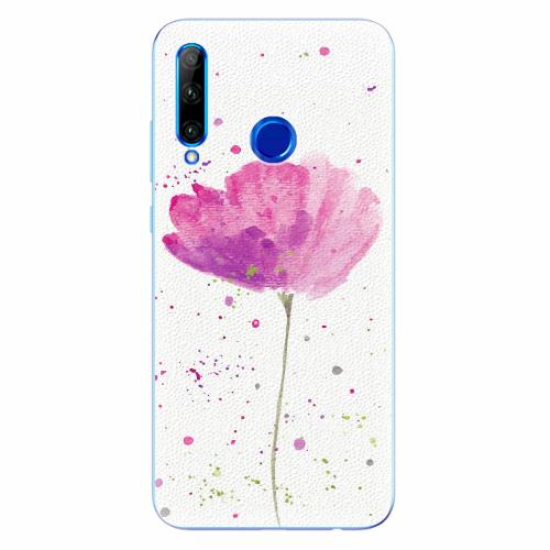 Silikonové pouzdro iSaprio - Poppies - Huawei Honor 20 Lite