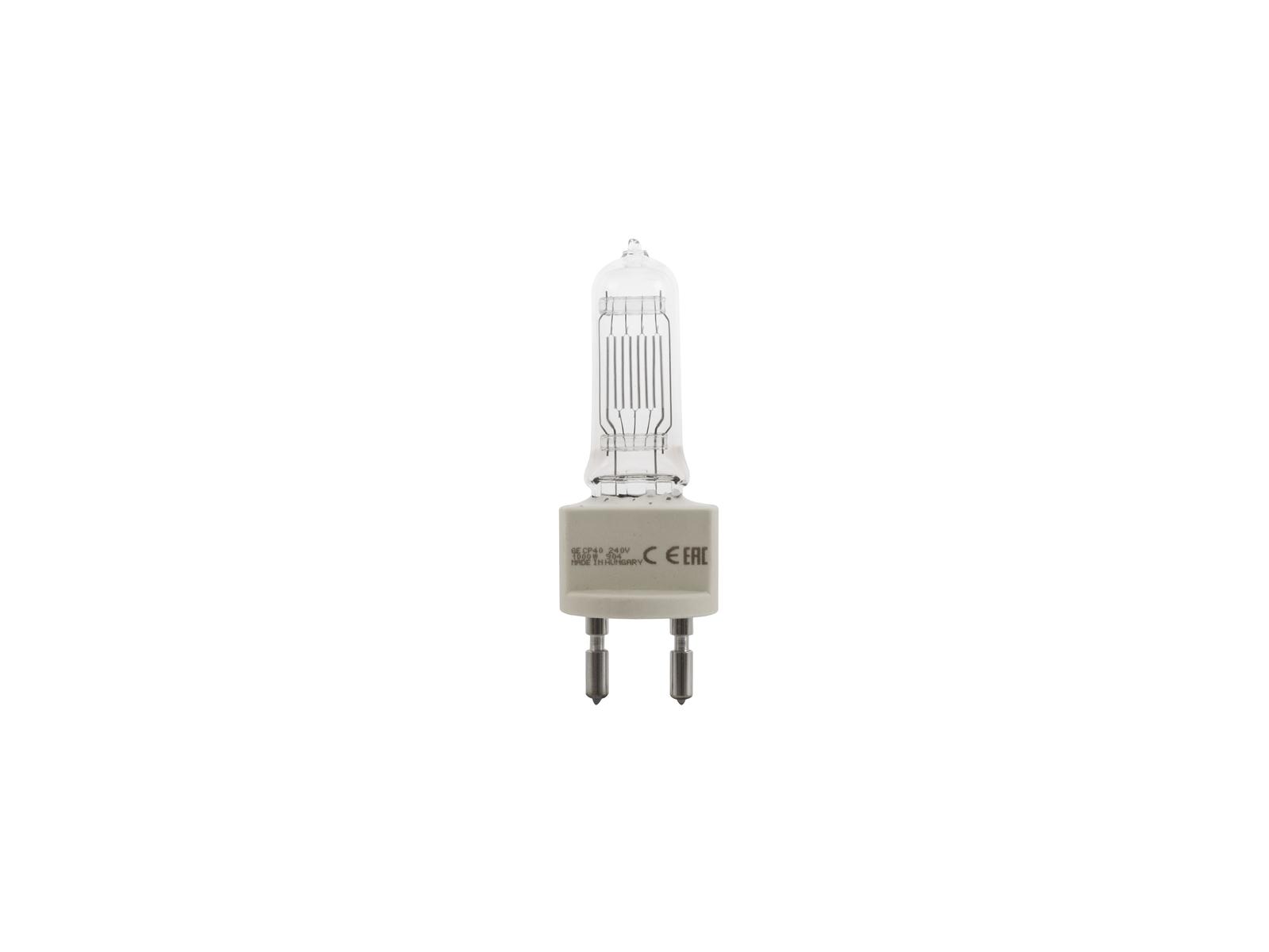 230V/1000W G-22 CP40 FKJ GE