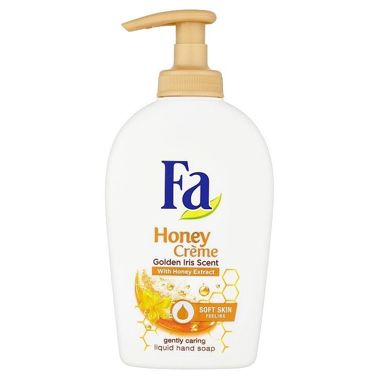Honey Crème krémové tekuté mýdlo Golden Iris Scent 250 ml