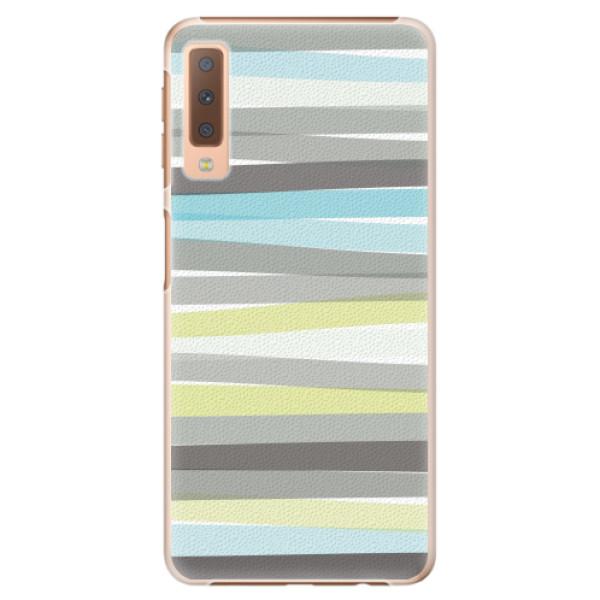 Plastové pouzdro iSaprio - Stripe - Samsung Galaxy A7 (2018)