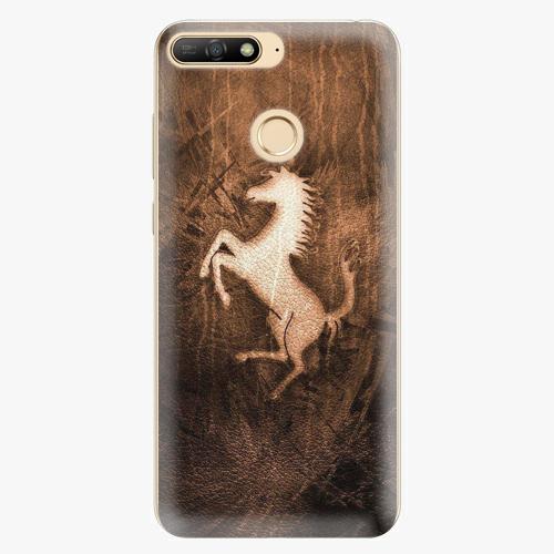 Plastový kryt iSaprio - Vintage Horse - Huawei Y6 Prime 2018