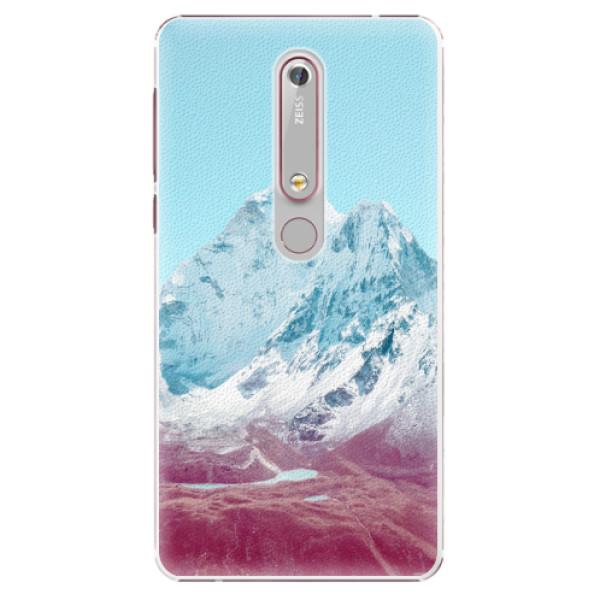 Plastové pouzdro iSaprio - Highest Mountains 01 - Nokia 6.1